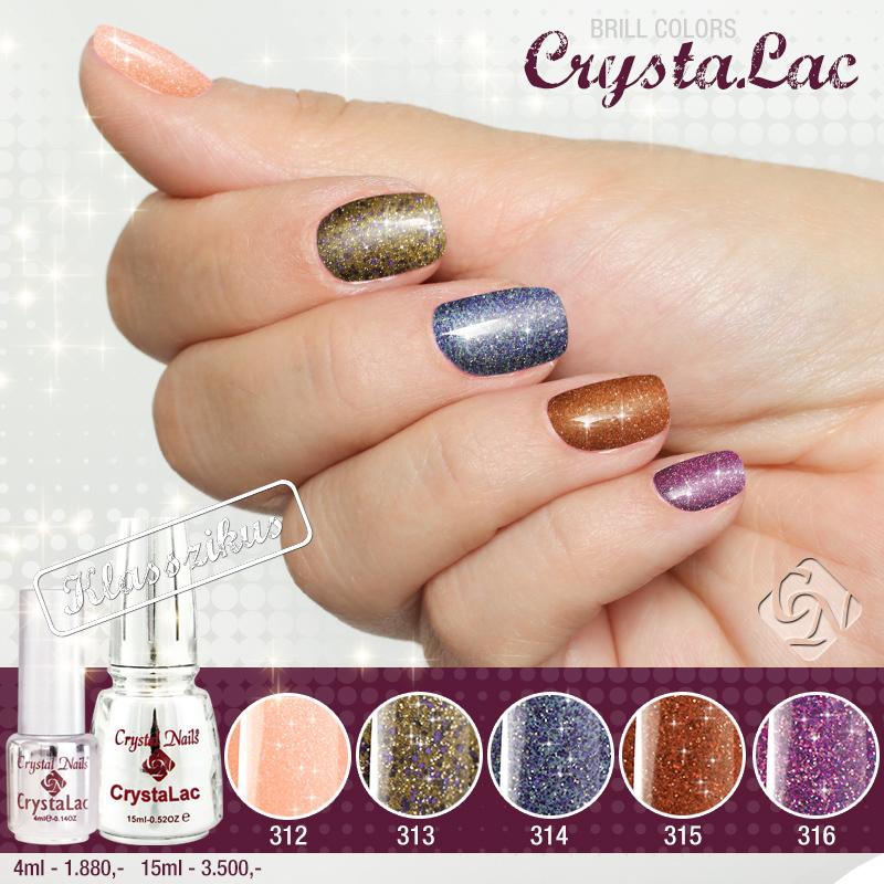 Cerramos el ano con los nuevos productos Crystal Nails