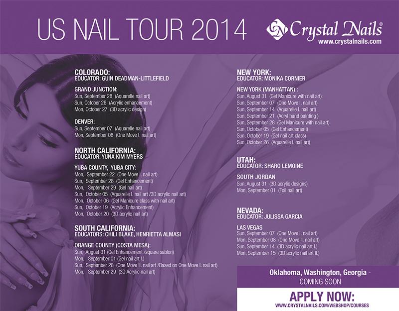 US Nail Tour 2014