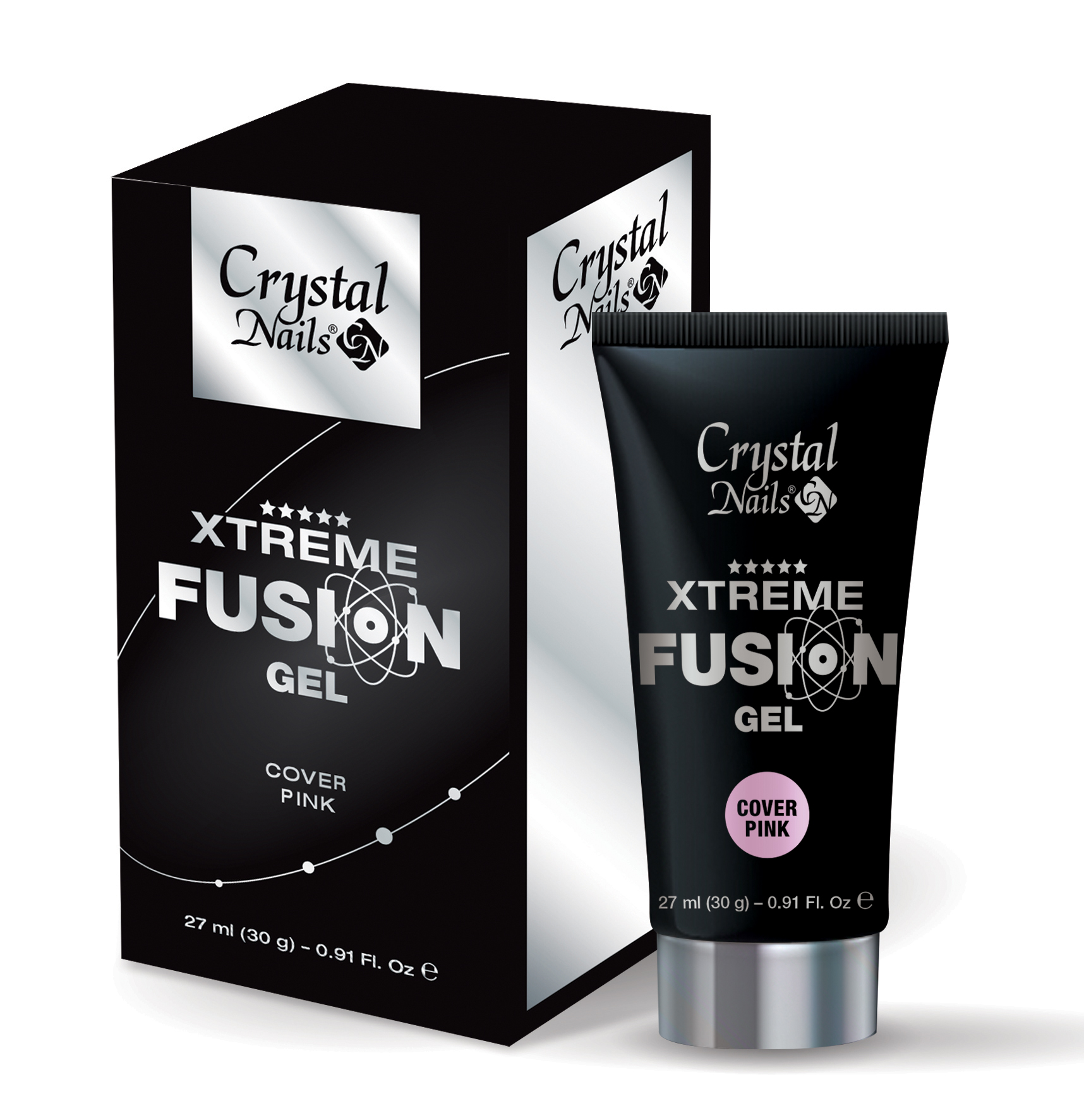 Xtreme Fusion AcrylGel Cover Pink - 30g (1.)