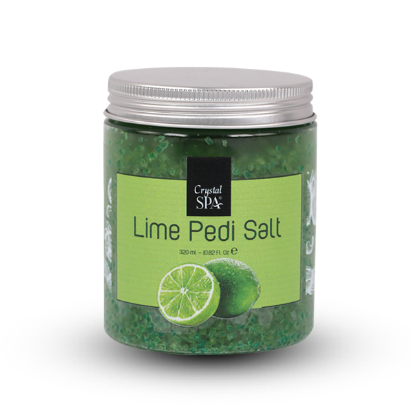 Pedi salt - pedikűr só - LIME (1.)