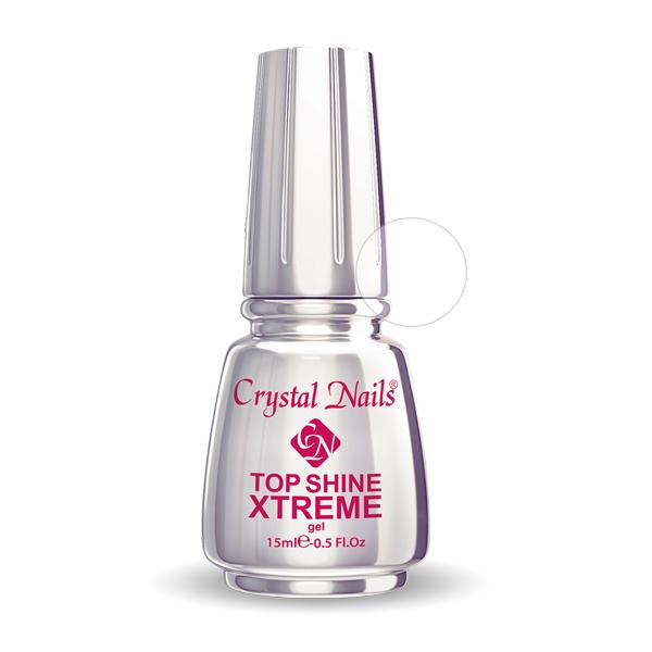 Xtreme Top Shine átlátszó fényzselé (Clear) - 15ml