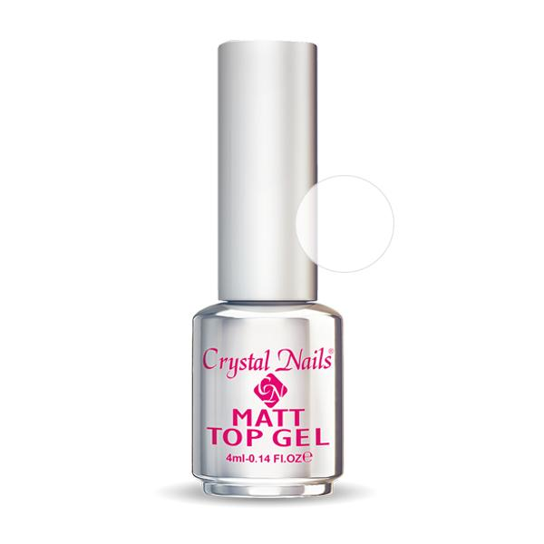 Leoldható Matt Top Gel - 4ml