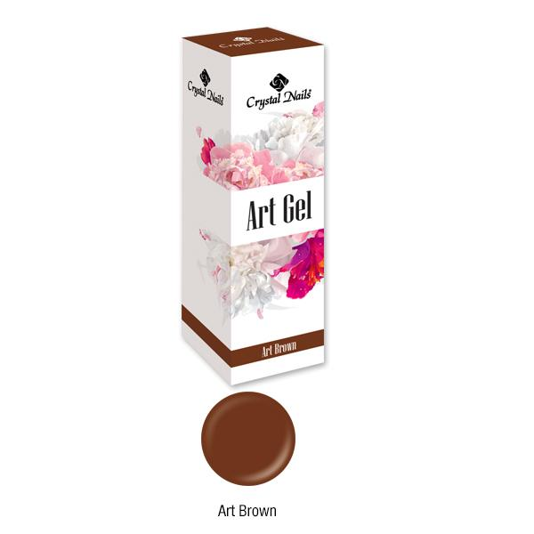 Art Gel festőzselé - Art Brown (5ml)