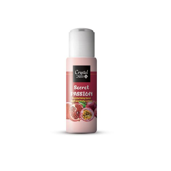 Moisturising Hand, Foot and Body Lotion - Secret Passion 30 ml - Limitált!