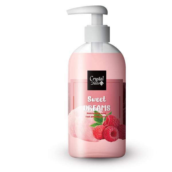Moisturising Hand, Foot and Body Lotion - Sweet Dreams Lotion 250 ml - Limitált!