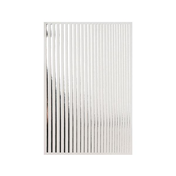 Magic stripes sticker - SILVER