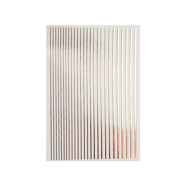 Magic stripes sticker - ROSEGOLD