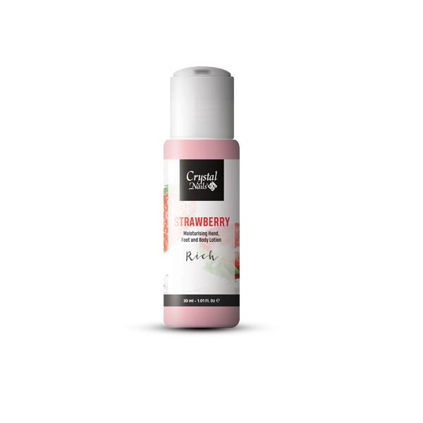 Moisturising Hand, Foot and Body Lotion - Strawberry Lotion - Rich 30ml