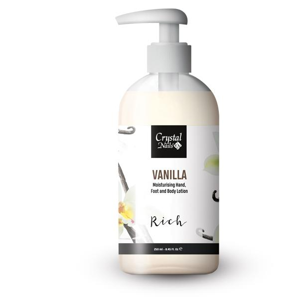 Moisturising Hand, Foot and Body Lotion - Vanilla Lotion - Rich 250ml