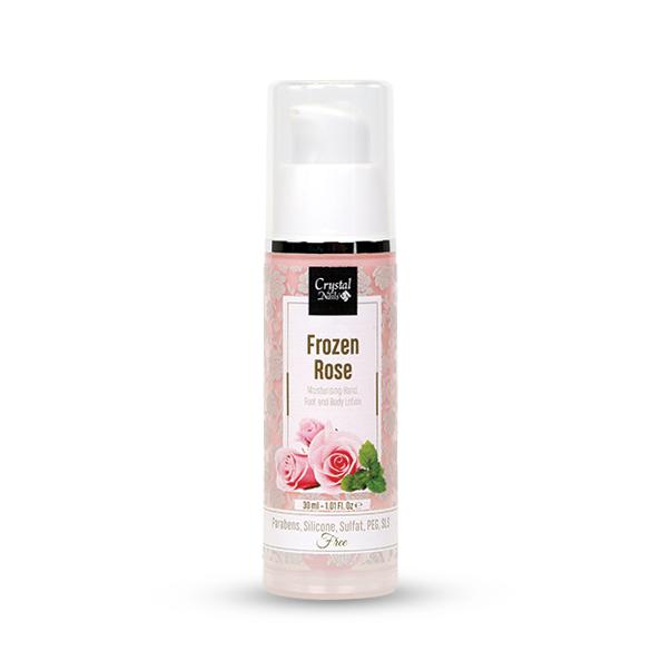 Moisturising Hand, Foot and Body Lotion - Frozen Rose 30ml