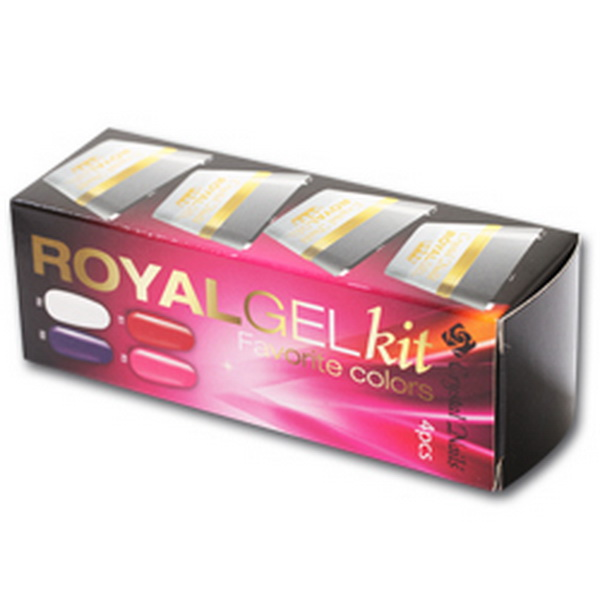 Royal Gel készlet - Favorite Colors  4x4,5ml