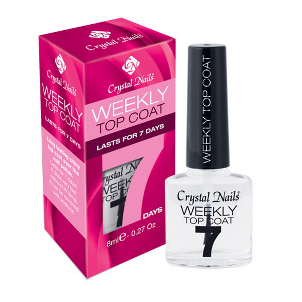 Weekly Top Coat fedőlakk  - 8ml