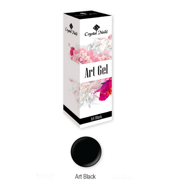 Art Gel festőzselé - Art Black (5ml)