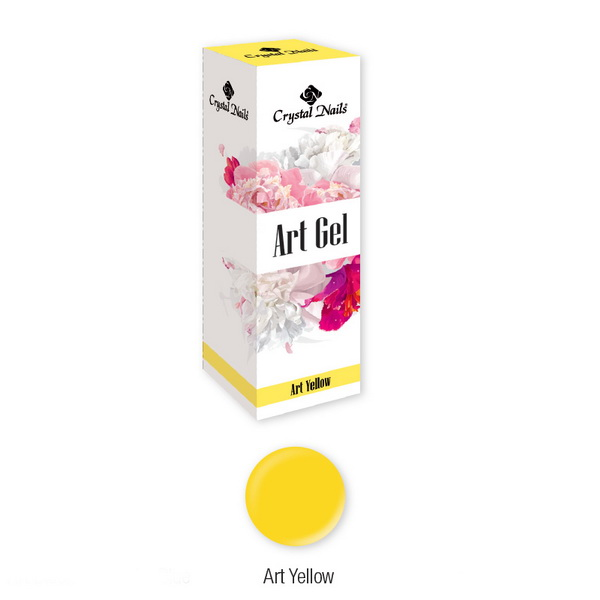 Art Gel festőzselé - Art Yellow (5ml)