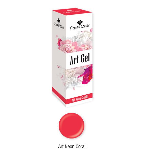 Art Gel sűrű festőzselé - Art Neon Coral (5ml)