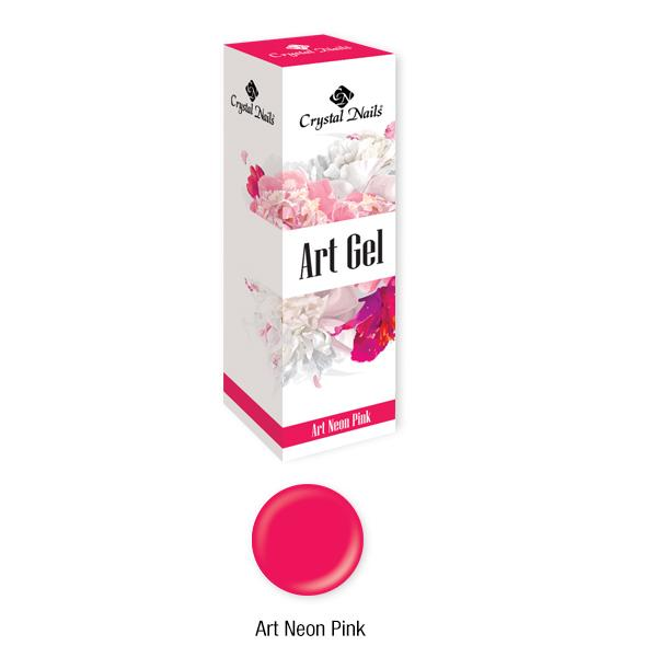 Art Gel sűrű festőzselé - Art Neon Pink (5ml)
