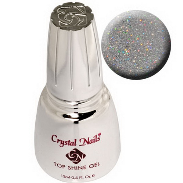 Top Shine zselé (Holo Silver) - 15ml